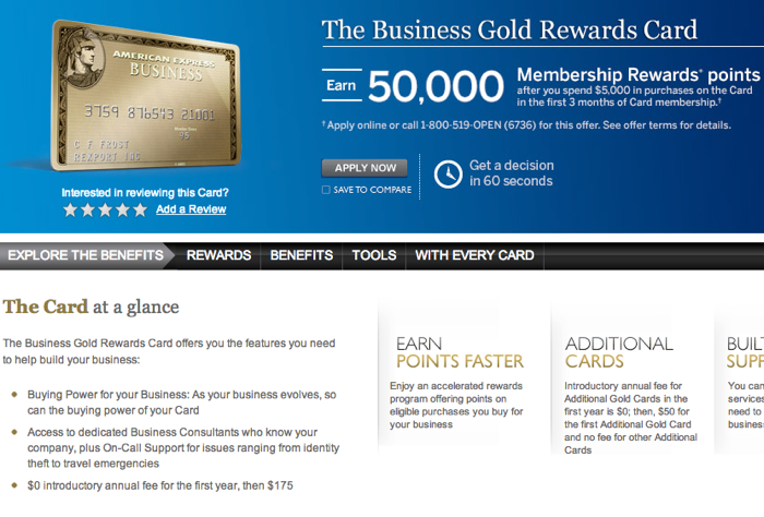 For AMEX Business Rewards Gold And Aeroplan Transfer Bonuses Worth It