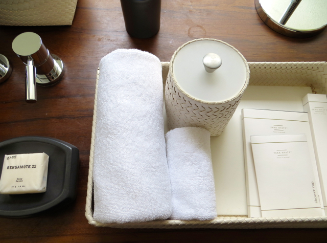 Park Hyatt Maldives Review - Bath Amenities