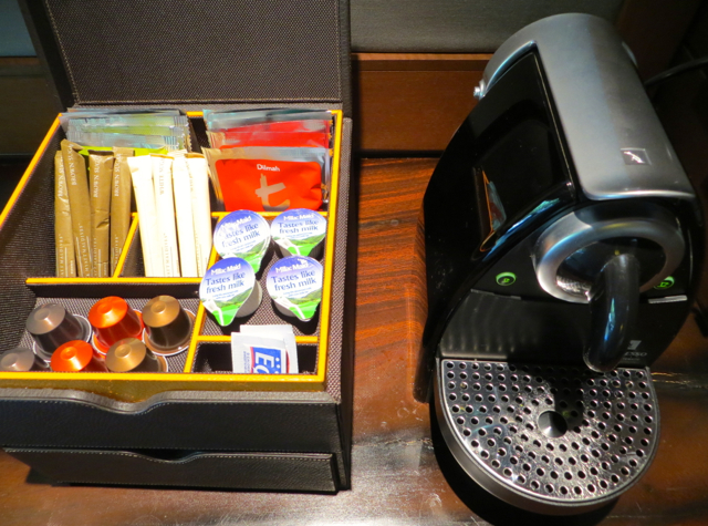 Park Hyatt Maldives Review - Nespresso Machine