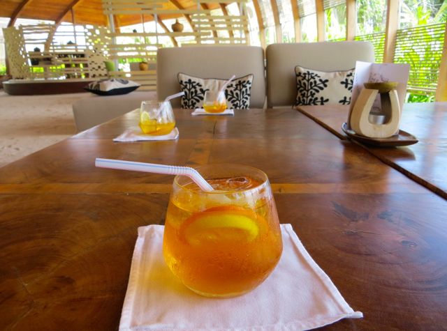 Park Hyatt Maldives Review - Welcome Drink