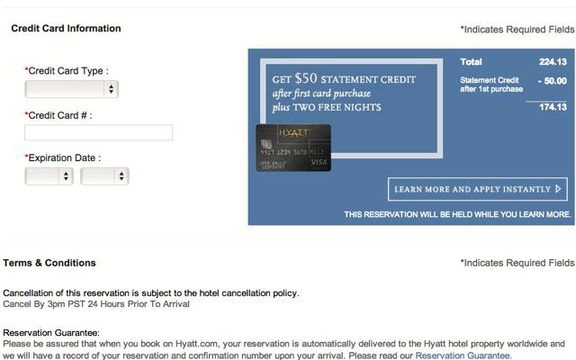 Hyatt Visa: Still the Best Hotel Credit Card Signup Bonus: 2 Free Nights + $50 Statement Credit