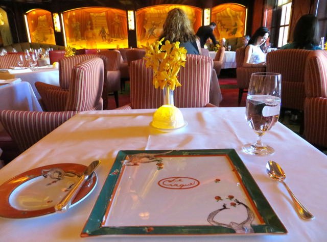 United Airlines First Class Le Cirque at The Bella...