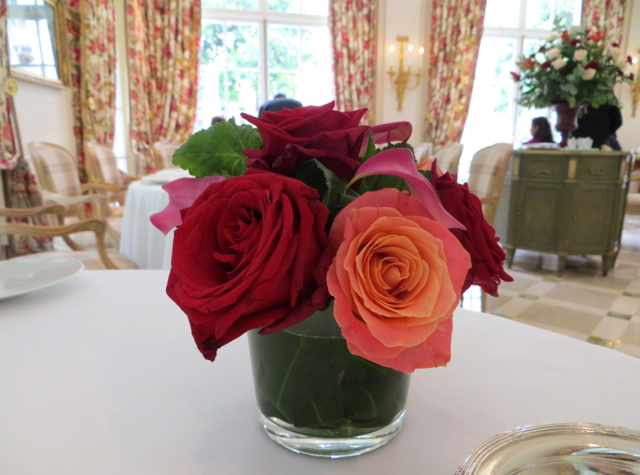 Epicure at Le Bristol Paris Restaurant Review - Rose Bouquet