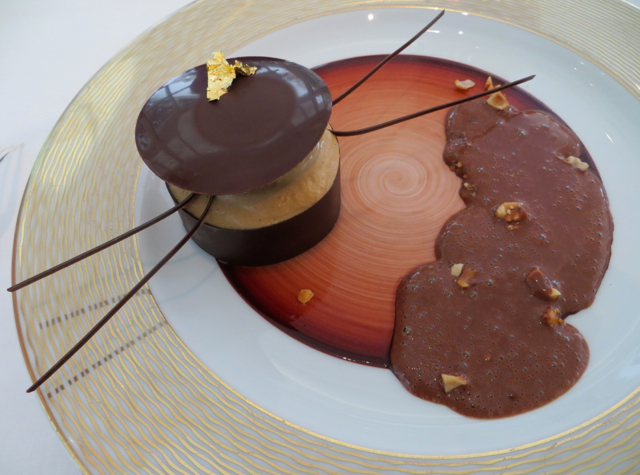 Epicure at Le Bristol Paris Restaurant Review - Caribbean Chocolate Dessert