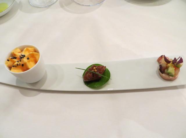 Le Cinq at Four Seasons Paris Restaurant Review - Amuse Bouche