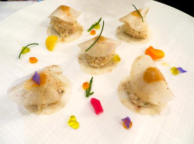 Le Cinq at Four Seasons Paris Restaurant Review-Crab First Course