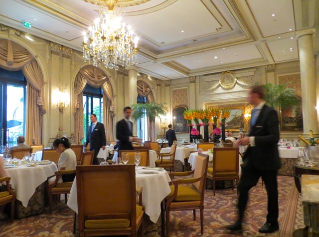 Le Cinq at Four Seasons Paris Restaurant Review-Dining Room
