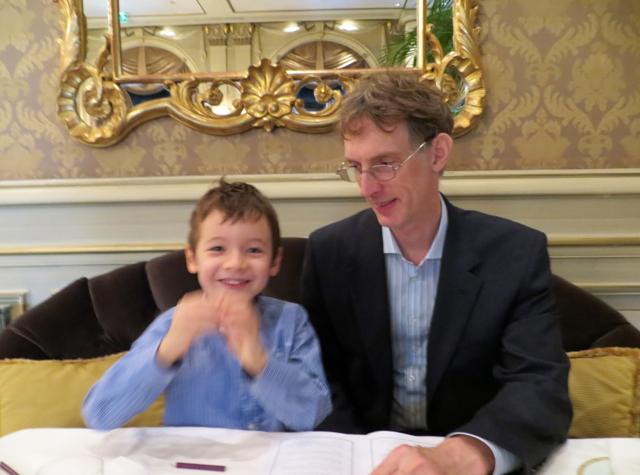 Le Cinq at Four Seasons Paris Restaurant Review - Energized by Lunch