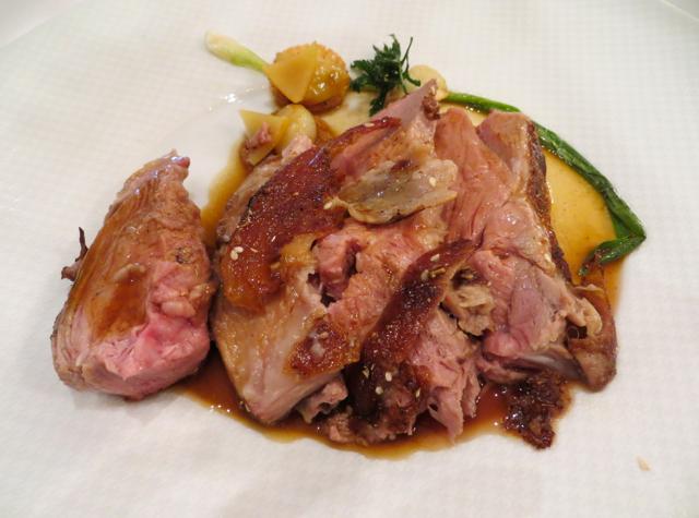 Le Cinq at Four Seasons Paris Restaurant Review - Lamb Shoulder from Aveyron