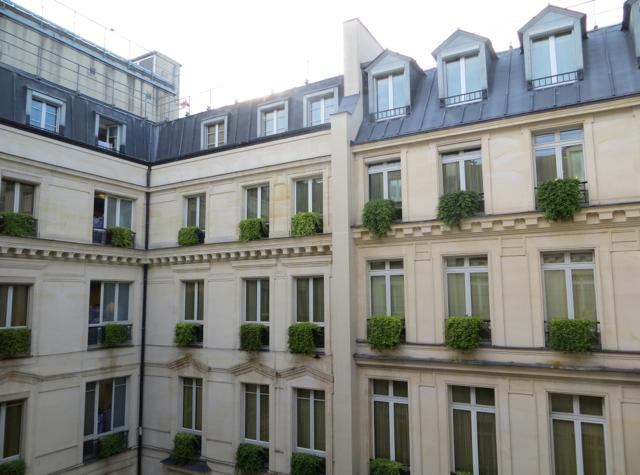 Park Hyatt Paris-Vendome Review - View from Park Deluxe Room