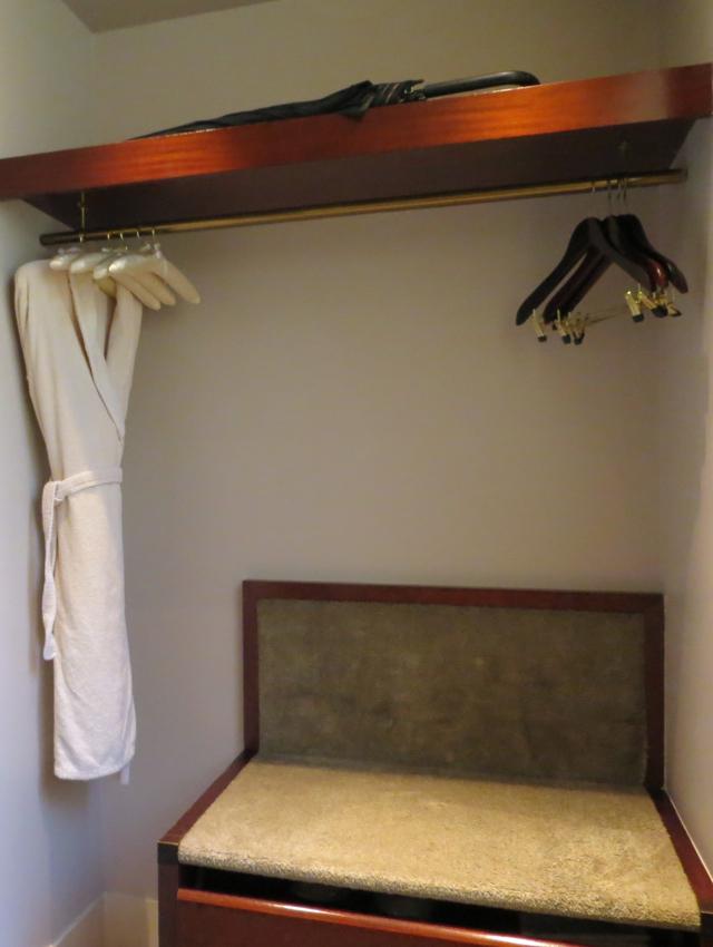Park Hyatt Paris-Vendome Review - Closet, Park Deluxe Room