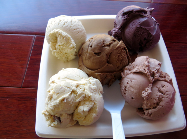 What to Do in Lockport, NY - Lake Effect Ice Cream Flight of Five