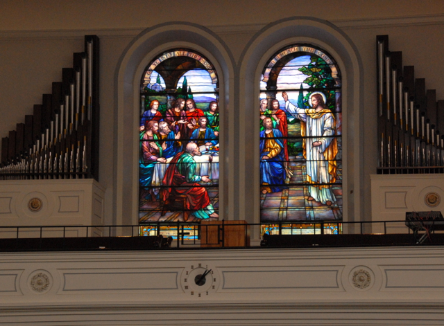 What to Do in Lockport - First Presbyterian Church Tiffany Stained Glass