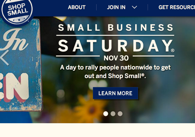 AMEX Small Business Saturday November 30 2013 and FAQ