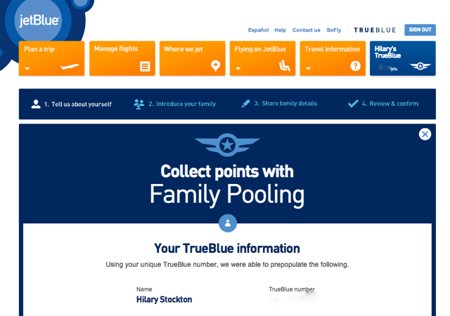 how to add family memeber to family pooling