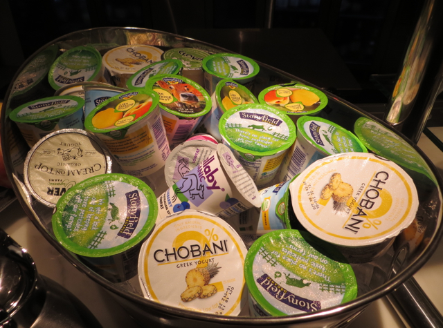 Yogurts, including organic Wallaby yogurt (my personal favorite) and ...