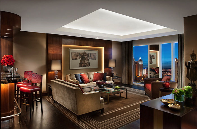 Valentine's Day 2014 Luxury Hotel Deals and Packages - Mandarin Oriental Las Vegas Dynasty Suite