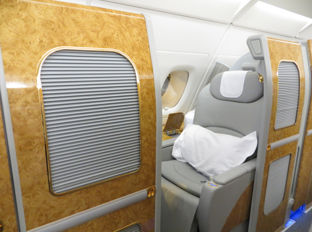 Emirates First Class A380 Review - Suite 2K