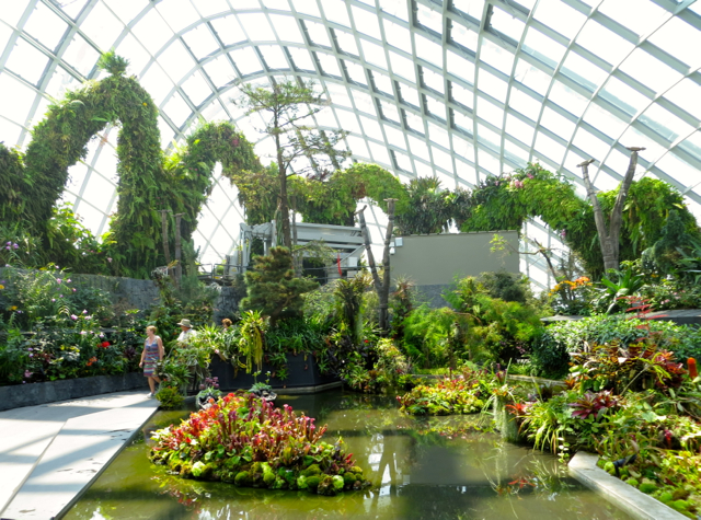 Singapore gardens by the bay review travelsort - Garden by the bay flower show ...