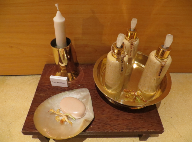 Amanjiwo Review, Borobudur - Bath Amenities