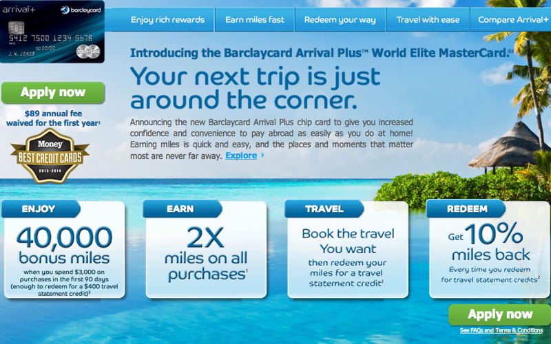 Barclaycard Arrival Plus World Elite MasterCard Review