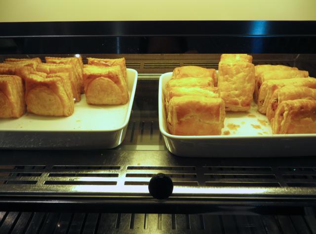 Thai Royal Orchid Lounge Bangkok - Savory Pastries