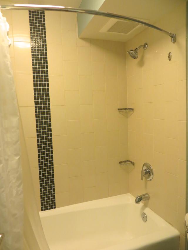 Bathroom Tub and Shower Combo  Hyatt Place Waikiki Beach. Hyatt Place Waikiki Beach Review   TravelSort