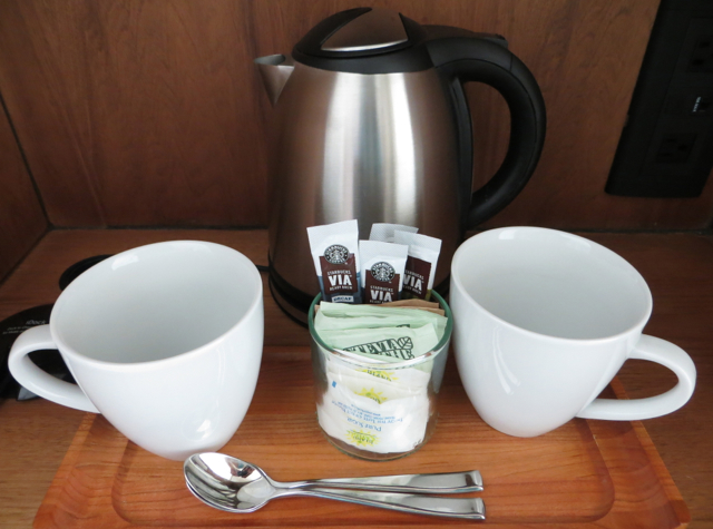 Coffee Maker In The Bedroom : Andaz Maui at Wailea Suite Review TravelSort