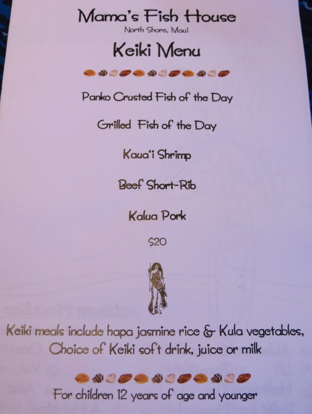 mama 39 s fish house review in paia maui travelsort ForMamas Fish House Lunch Menu