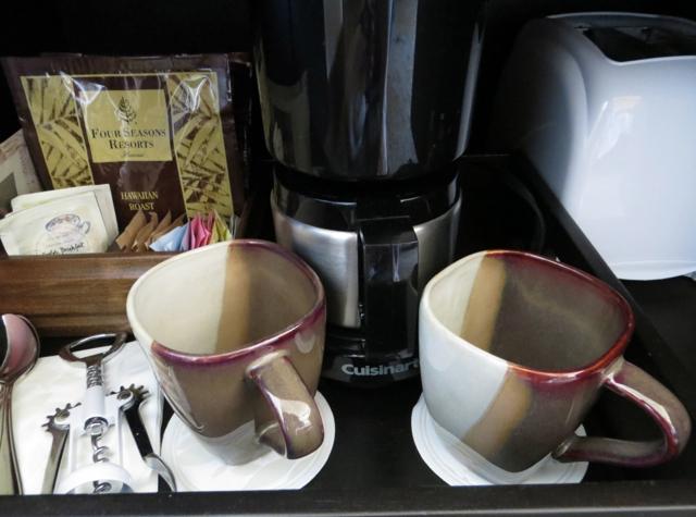 Four Seasons Hualalai Review - Coffee Maker