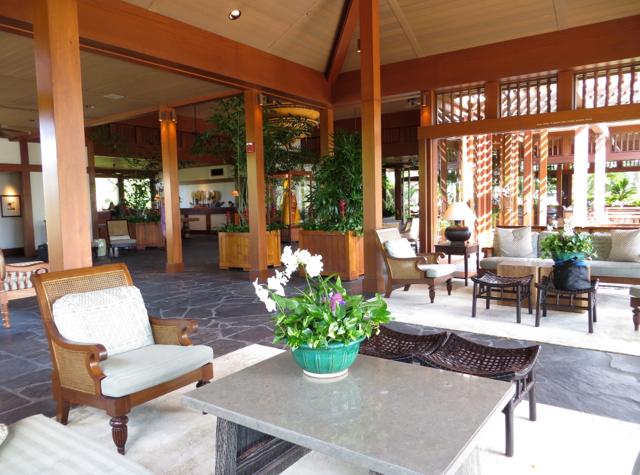 Four Seasons Hualalai Review - Lobby