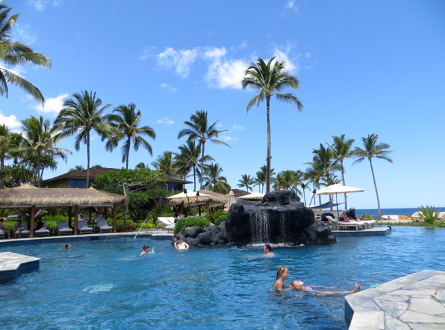 Four Seasons Hualalai Review - Sea Shell Pool