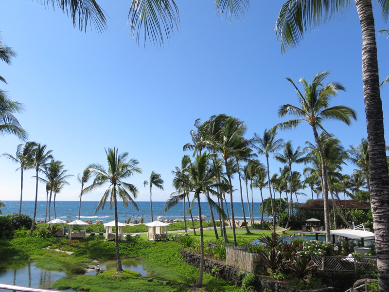 Four Seasons Hualalai Review: View from Prime Ocean View Room