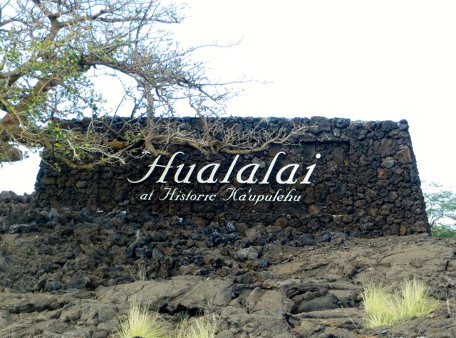 Four Seasons Hualalai Sign