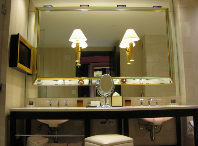 Encore at wynn las vegas review travelsort - Bathroom cabinets las vegas ...