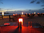 Square_park_hyatt_maldives_island_grill_beach_bbq-tables_at_sunset