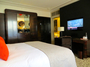 Square_prince_de_galles_paris_hotel_review-art_deco_deluxe_room_king_bed_and_desk