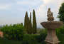 Square_dinner-castello_banfi_il_borgo-la_sala_dei_grappoli_view_and_fountain