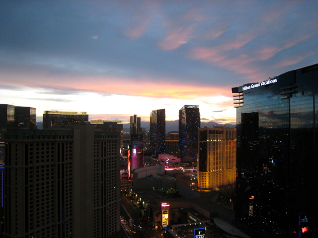 The Signature at MGM Grand Review Las Vegas - View from One Bedroom Suite