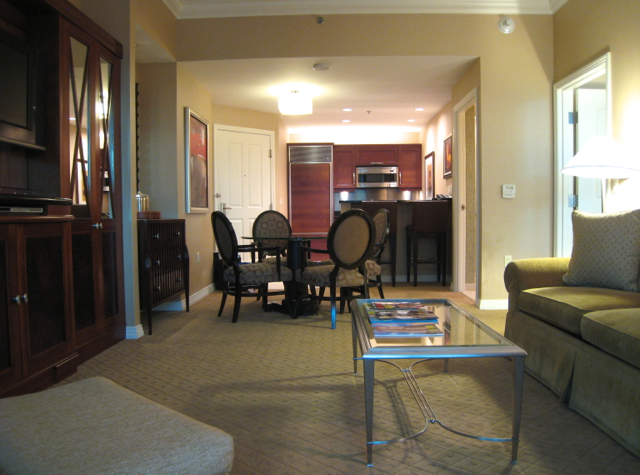 The Signature at MGM Grand Las Vegas Review-Suite Living Room
