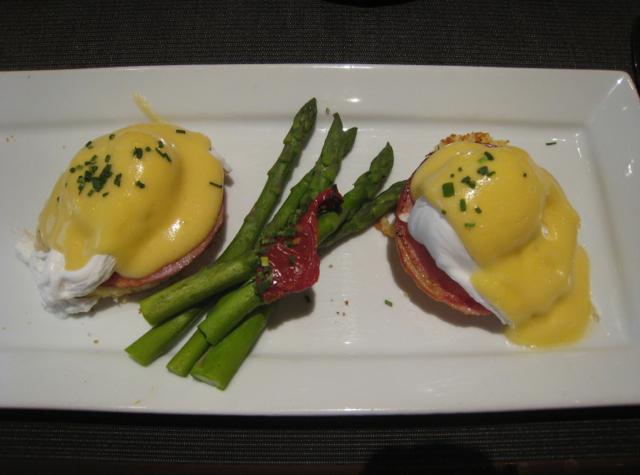Four Seasons Las Vegas Review - Eggs Benedict