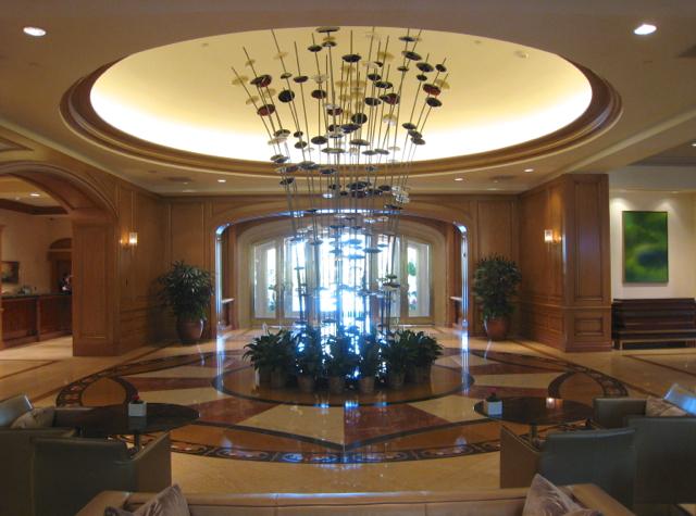 Four Seasons Las Vegas Review - Lobby