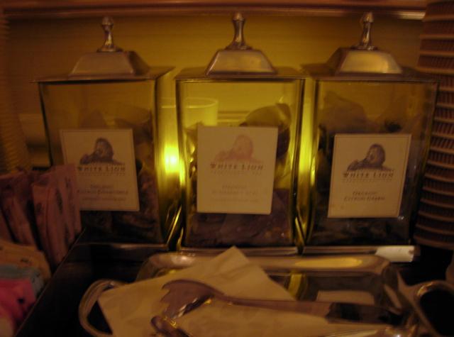 Four Seasons Las Vegas Spa Review - White Lion Organic Tea