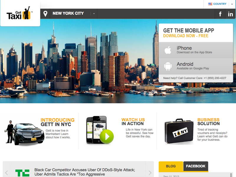 GetTaxi NYC: $10 Rides Anywhere in Manhattan