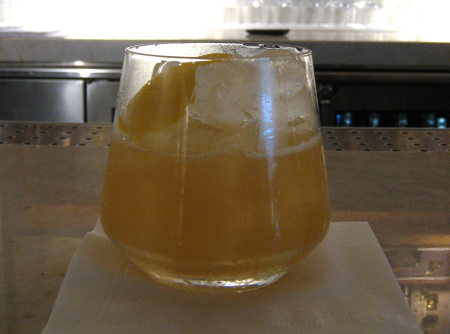 AMEX Centurion Lounge Las Vegas - Gold Rush Cocktail