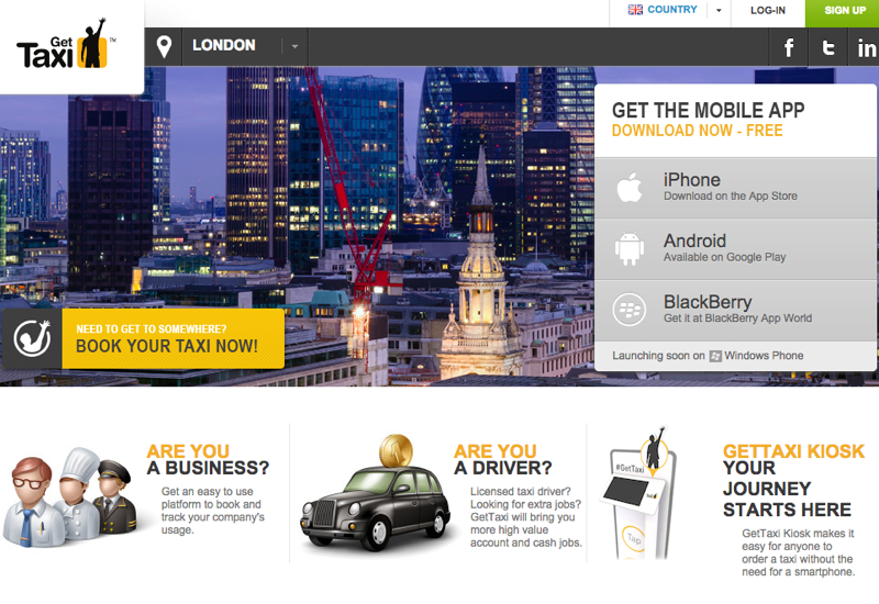 GetTaxi London: Airport Transfer between LHR and London