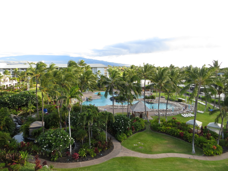 Fairmont Orchid Review - View from Fairmont Gold Ocean View Room