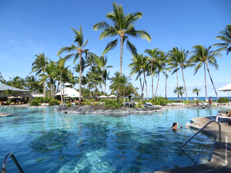 Fairmont Orchid Hawaii Review - Swimming Pool