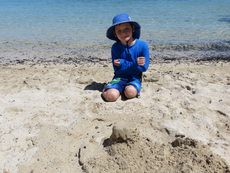 Sand Castle Fun at Pauoa Bay, Fairmont Orchid, Hawaii