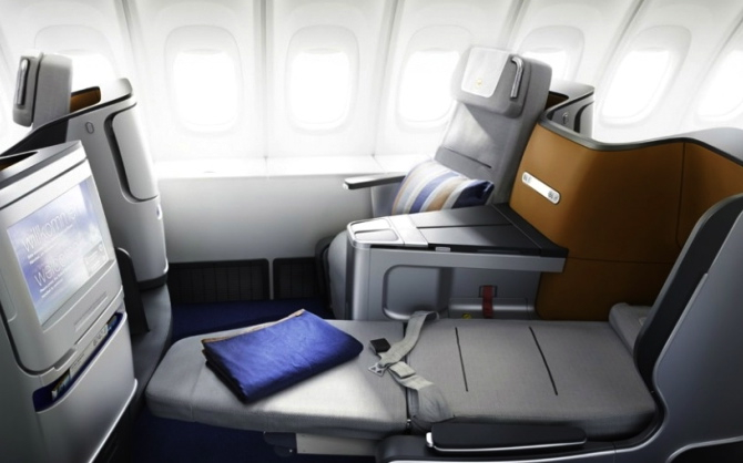 Best Business Class Seats for Couples - Lufthansa New Business Class